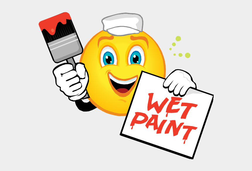 opportunities clipart, Cartoons - Volunteer Opportunities - Wet Paint Clip Art