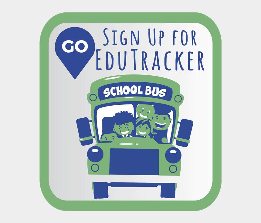 back to school night clipart, Cartoons - Sign Up For Edutracker - Bus School Vector