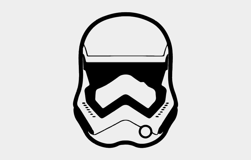 starwars clipart, Cartoons - Stormtrooper Clipart Kylo Ren - Kylo Ren Mask Clipart