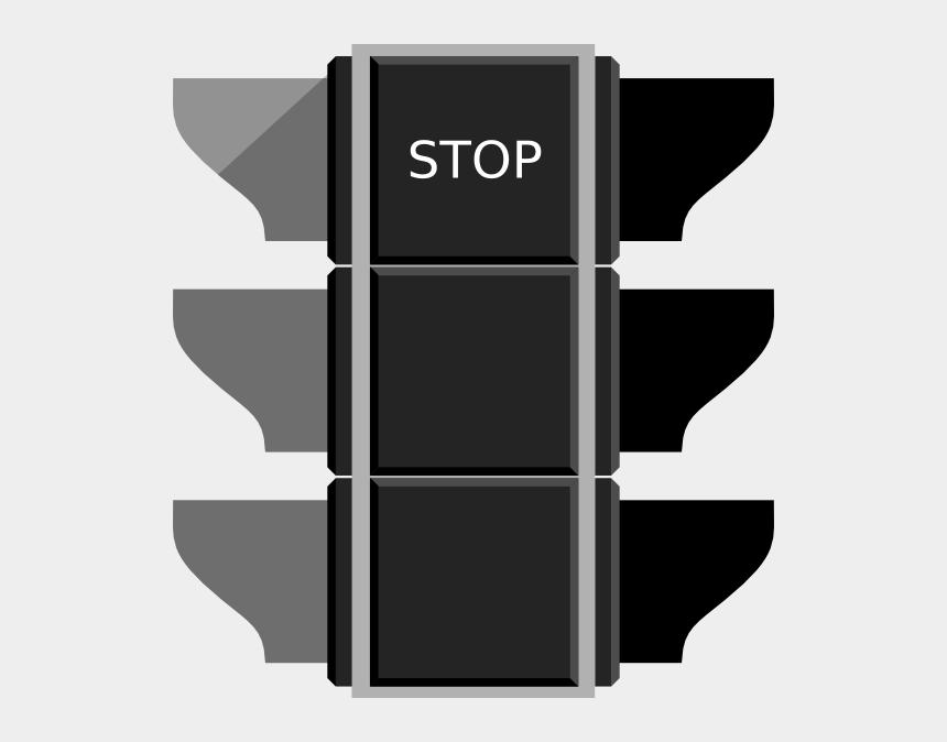 clipart stop sign, Cartoons - Red Traffic Light Stop Sign Clip Art - Traffic Signal Green Light