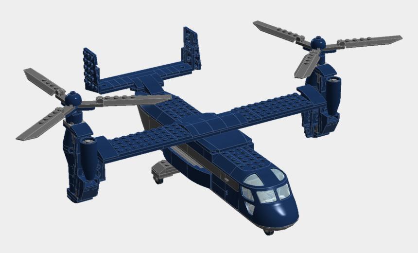 helicopter clipart black and white, Cartoons - Darth Vader Lego Clip Art - Bell Boeing V-22 Osprey