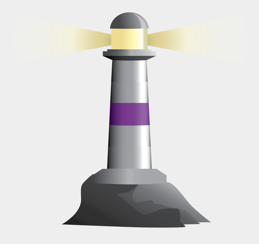 lighthouse clipart public domain, Cartoons - Lighthouse Clipart Purple - Lighthouse