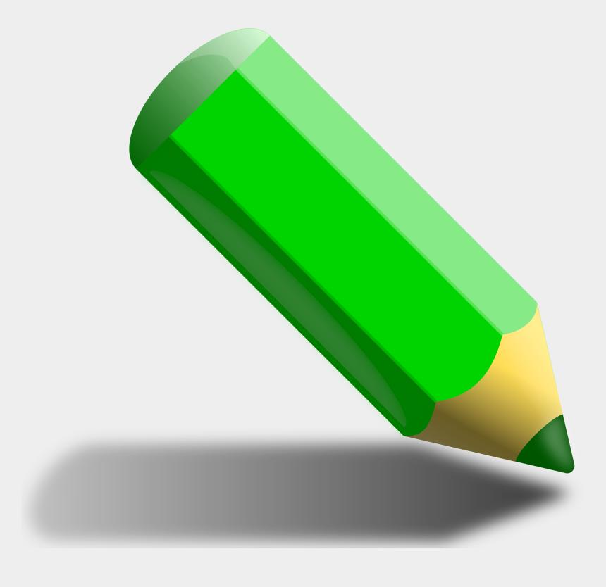 clipart pencils, Cartoons - Pencils Clipart Education - Green Color Pencil Clipart