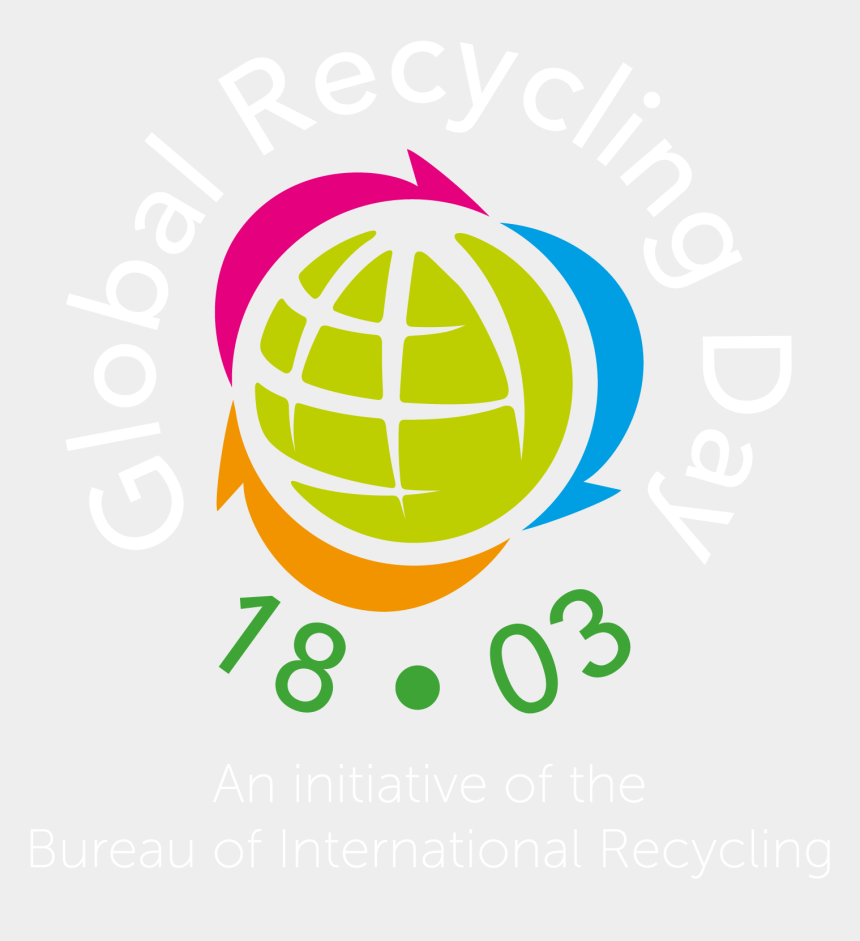recycle symbol clipart, Cartoons - Global Recycling Day 2019