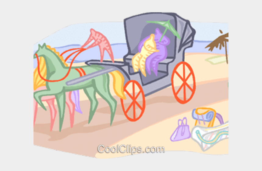 carriage clipart, Cartoons - Horse Drawn Carriage Clipart Royal Carriage - Mare