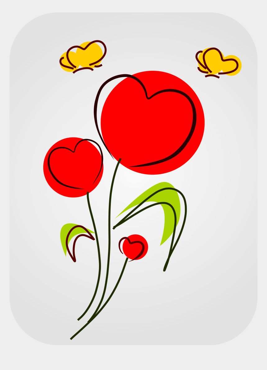 clipart of hearts, Cartoons - Clipart Hearts Flower - Clipart Flowers And Hearts