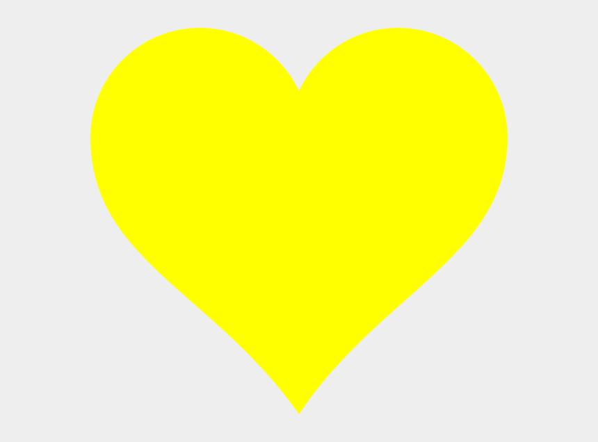 clipart of hearts, Cartoons - Clip Art Hearts Yellow