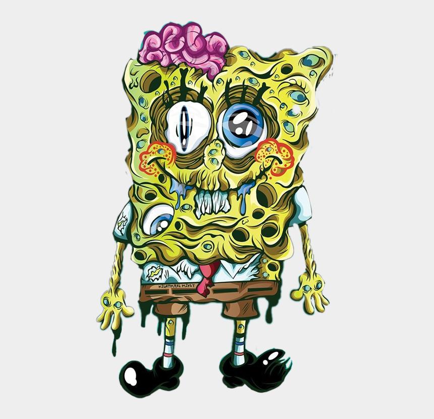 Gambar Spongebob Zombie Vector Cliparts Cartoons Jing Fm