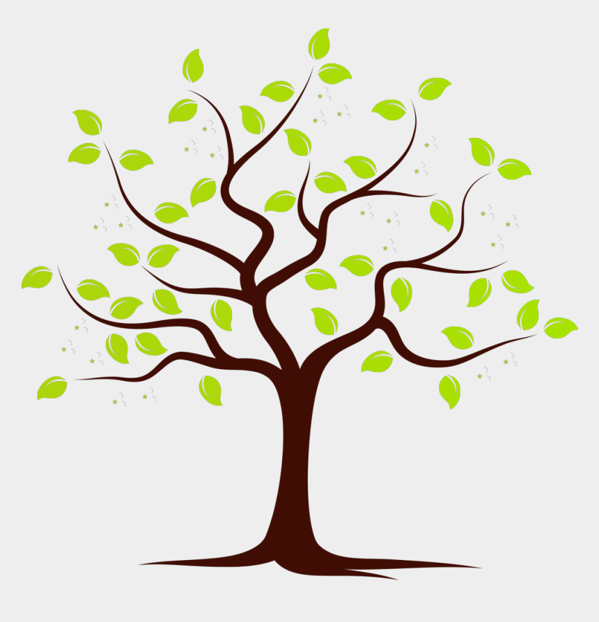 twig clipart, Cartoons - Fruit Bearing Trees Clipart - Tree With One Apple Cartoon