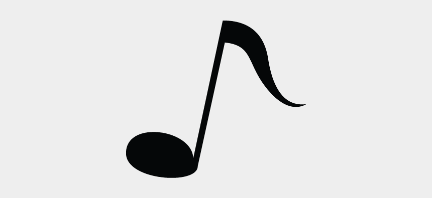 Eighth Note, Music, Node, Instrument Vector Icon - Musical