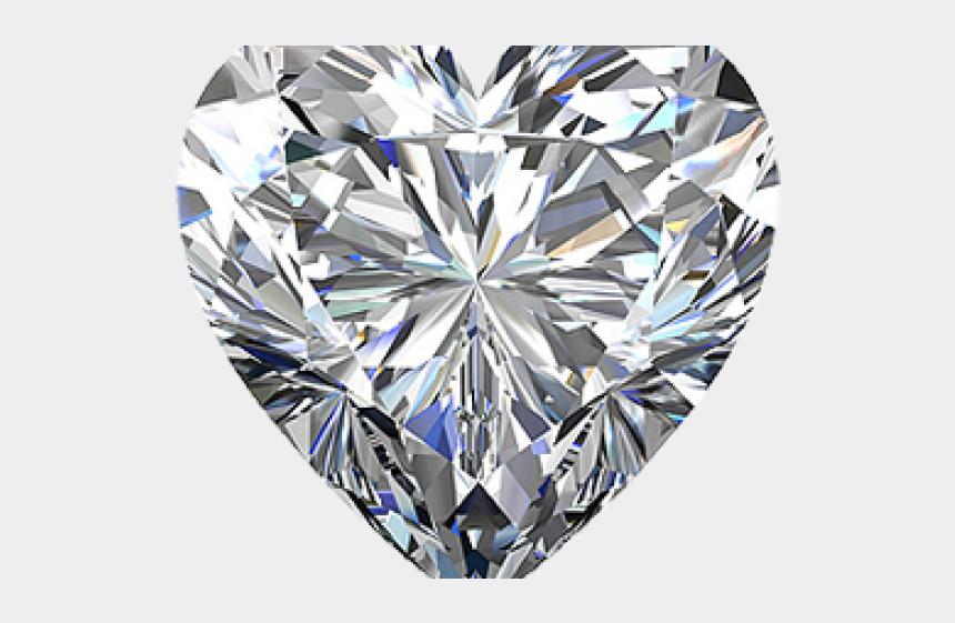 jewel clipart, Cartoons - Heart Made Of Diamonds