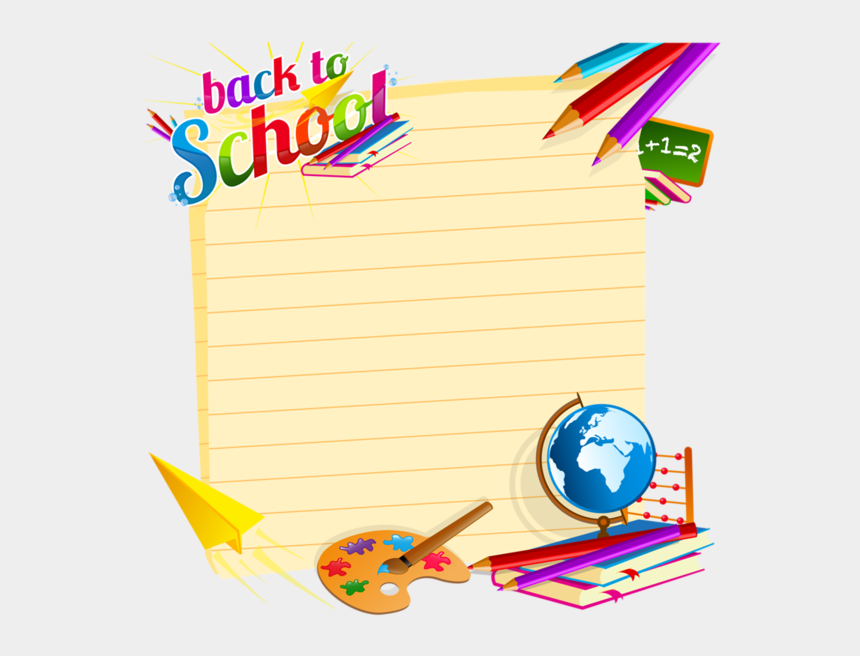 back to school border clipart, Cartoons - Page 34 Cartoon Download, Vector Free Download, School - Vector Back To School