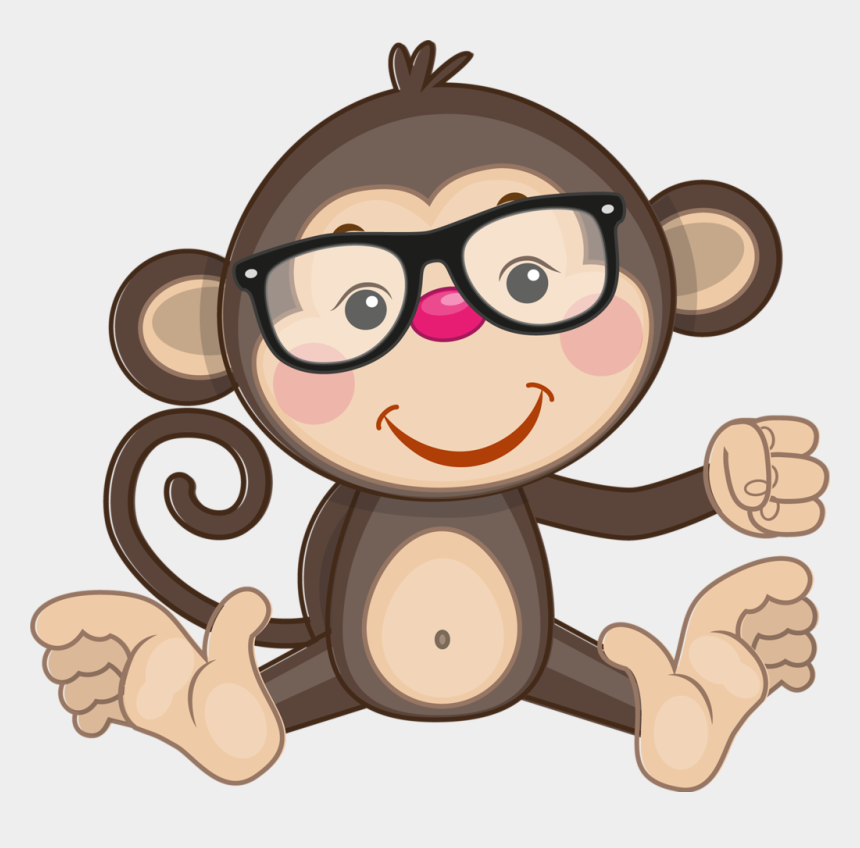 cute monkeys clipart, Cartoons - Фото, Автор Ya - Birthday Monkey Clipart