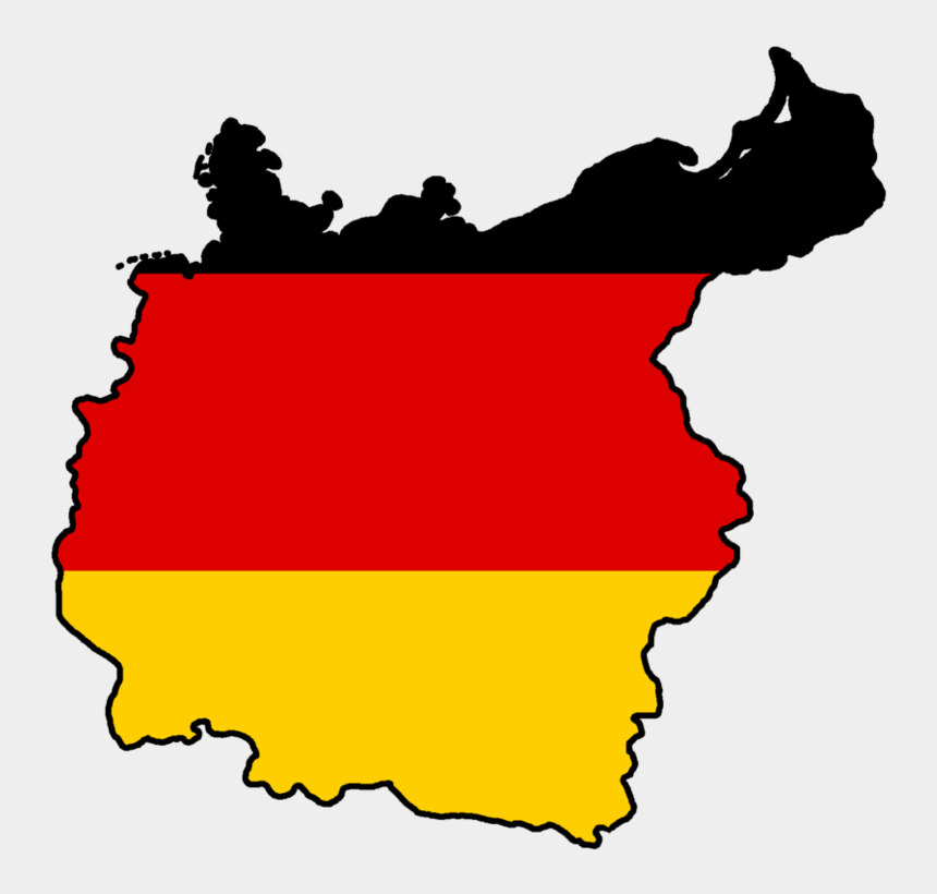 usa map clipart, Cartoons - German Flag Clipart - Map Germany Flag Png