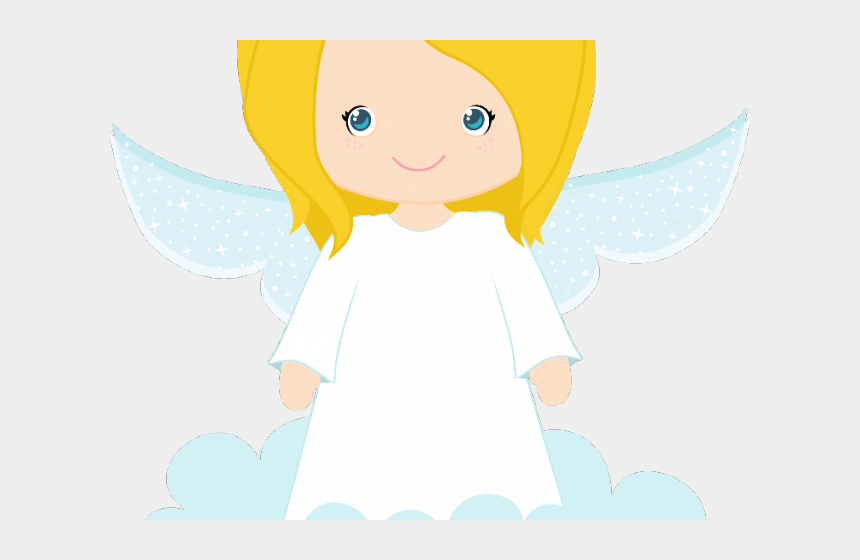 guardian angels clipart, Cartoons - Angel Clipart Profile - Boy Angel First Communion