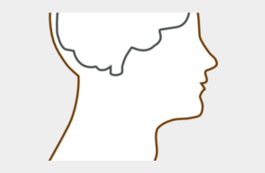 waterpark clipart, Cartoons - Drawn Brains Blank - Brain Outline Head