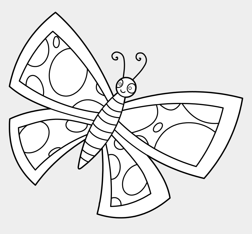 cute butterfly clipart black and white, Cartoons - Free Clipart Butterflies - Clipart Pictures Butterfly Black And White