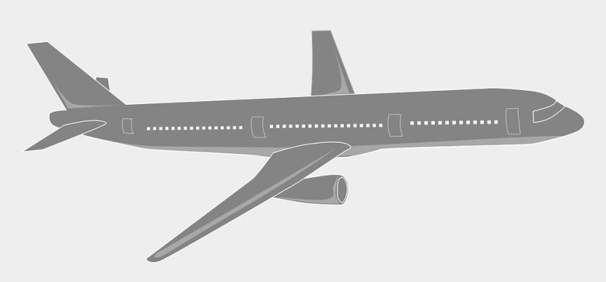 vintage airplane clipart no background, Cartoons - Plane Png Black And White