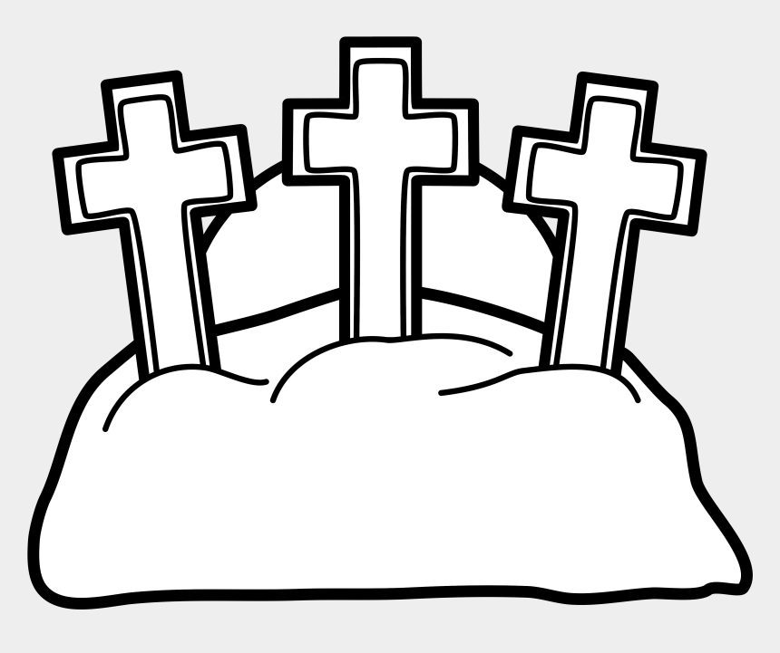 The Three Crosses On The Hill Of Golgotha For Easter