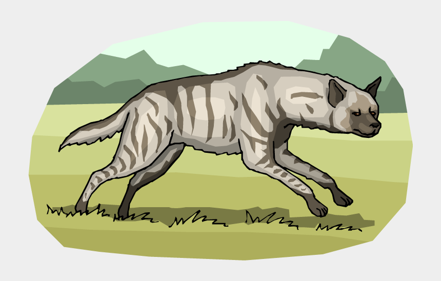 hyenas clipart, Cartoons - Free Hyena Clipart - Cat Yawns