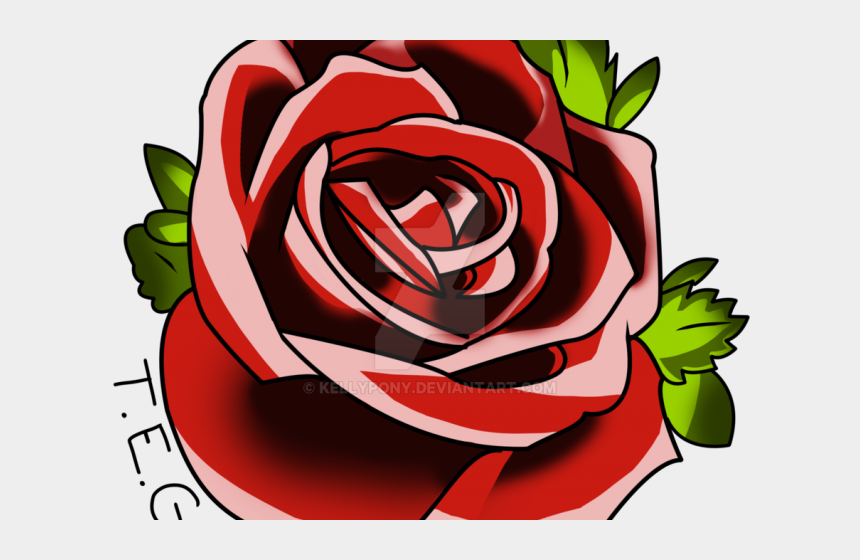 clipart of roses, Cartoons - Star Tattoos Clipart Roses And Star - Rose Tattoo Design Png