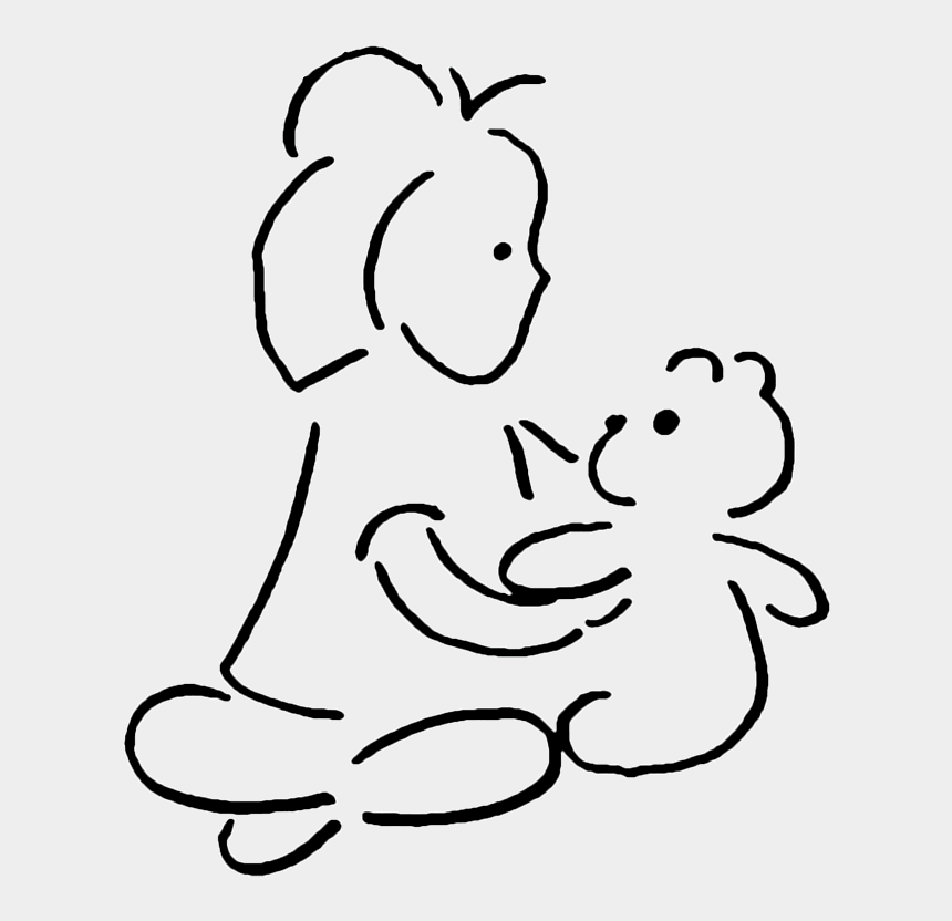 father clipart black and white, Cartoons - A Perfect World - Teddy Bear