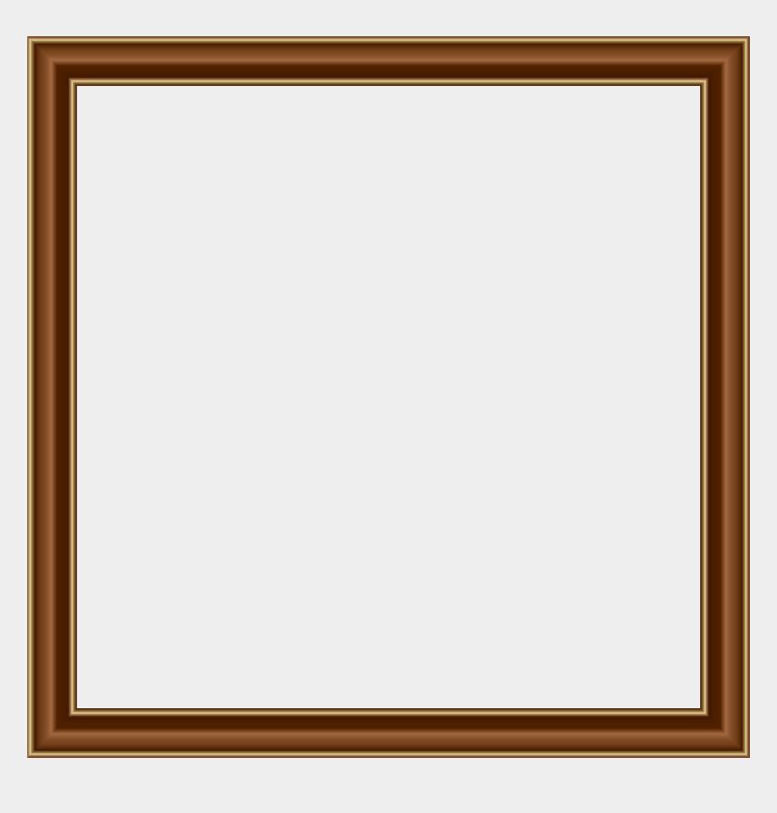 rustic frame clipart, Cartoons - Brown Gold Border Frame Transparent Png Image - Brown Borders And Frames