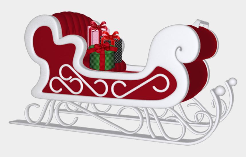 santa's sleigh clipart, Cartoons - Christmas - Santa's Sleigh - Christmas
