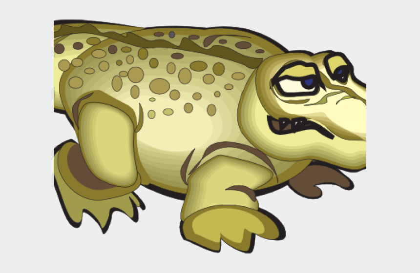 cute alligator clipart, Cartoons - Yellow Clipart Alligator - Crocodiles