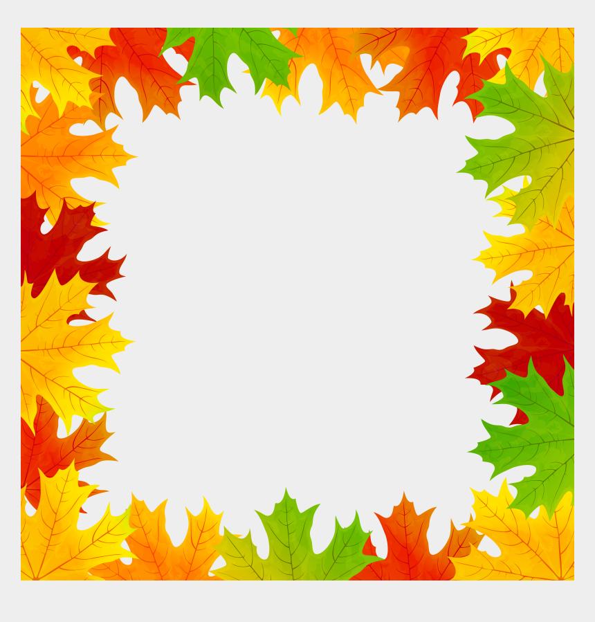 fall borders clipart free, Cartoons - Fall Leaves Frame - Fall Leaf Frame Png