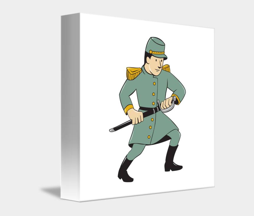 civil war soldier clipart, Cartoons - Sword Clipart Army - Civil War Soldiers Drawings
