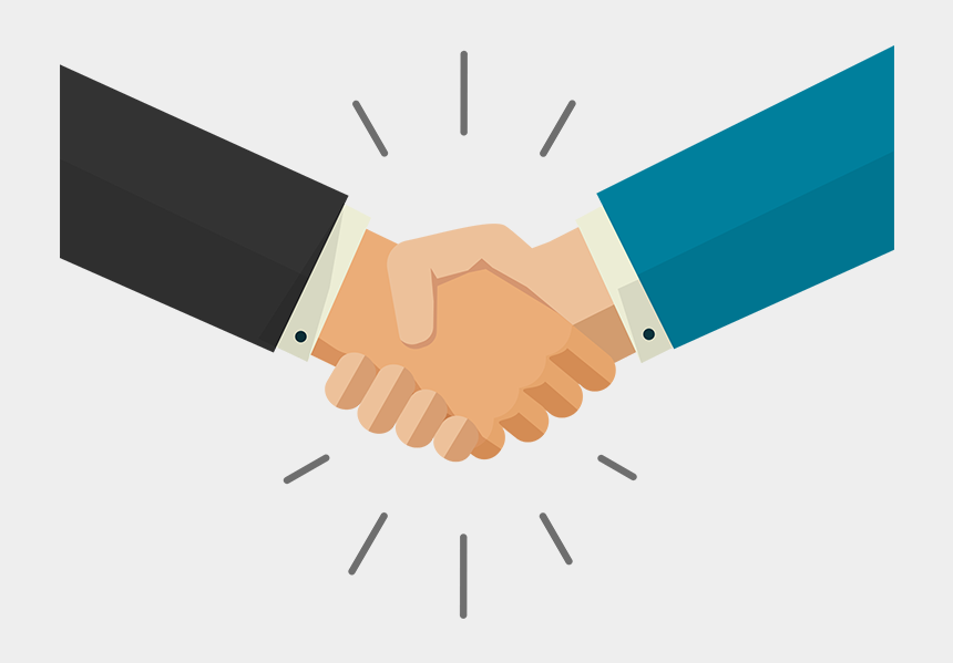 handshake clipart png, Cartoons - Shaking Hands , Png Download - Shaking Hands