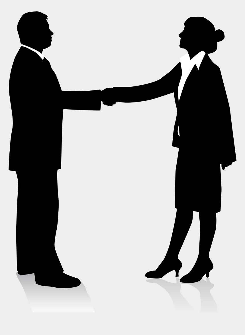 handshake clipart png, Cartoons - Business People Silhouette Png Similiar Keywords With - Shaking Hands Silhouette Png