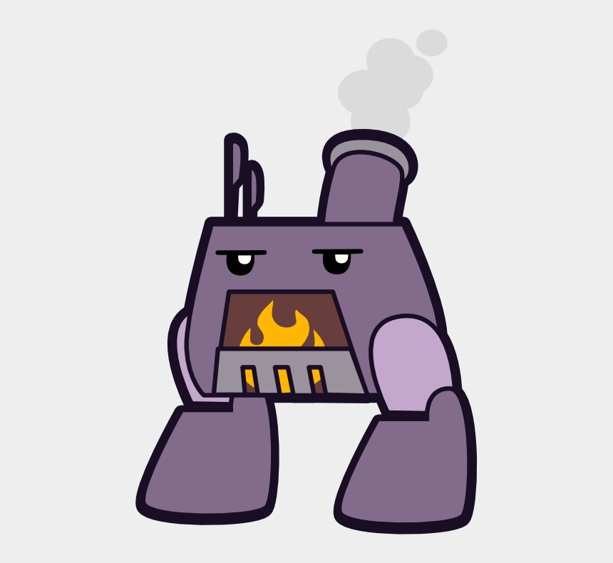 snapshot clipart, Cartoons - Furnace Character 1 - Portable Network Graphics