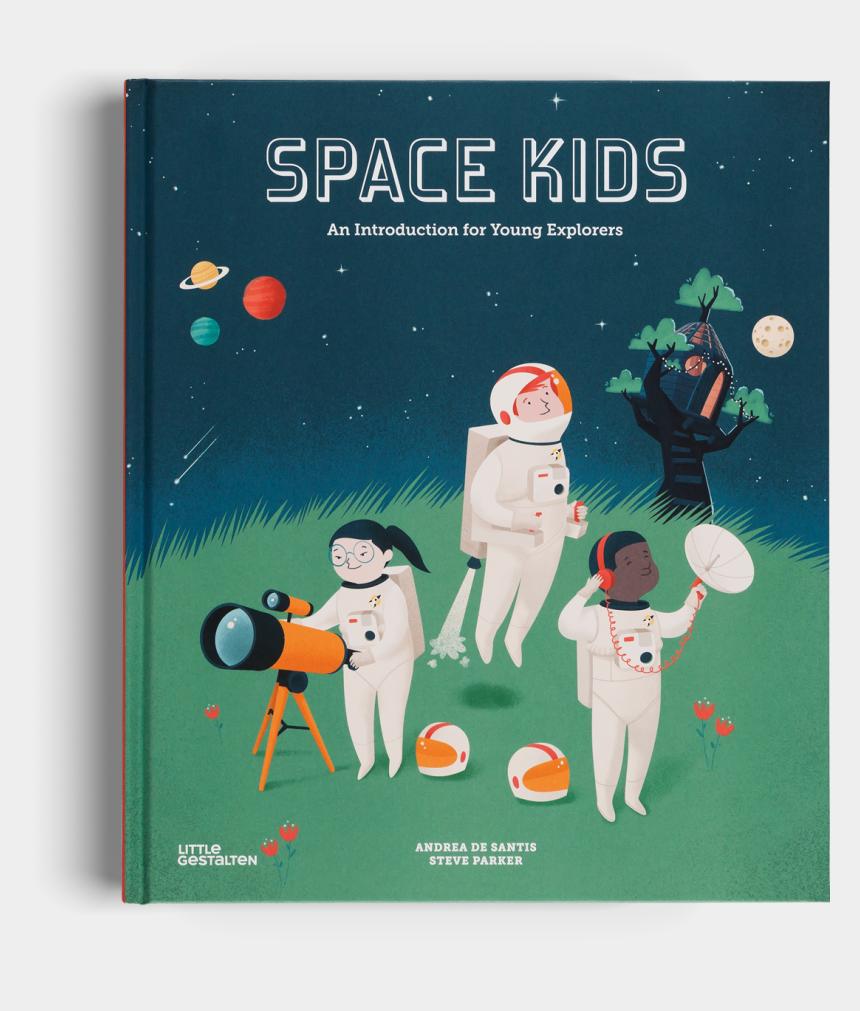 croquet clipart, Cartoons - Space Kids Universe Little Gestalten Kids Book - Space Kids An Introduction For Young Explorers