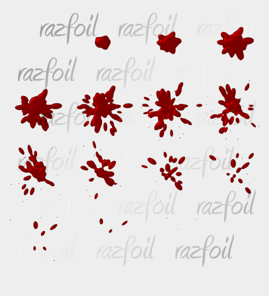 blood spatter clipart, Cartoons - Visit - Blood Splatter Sprite Sheet