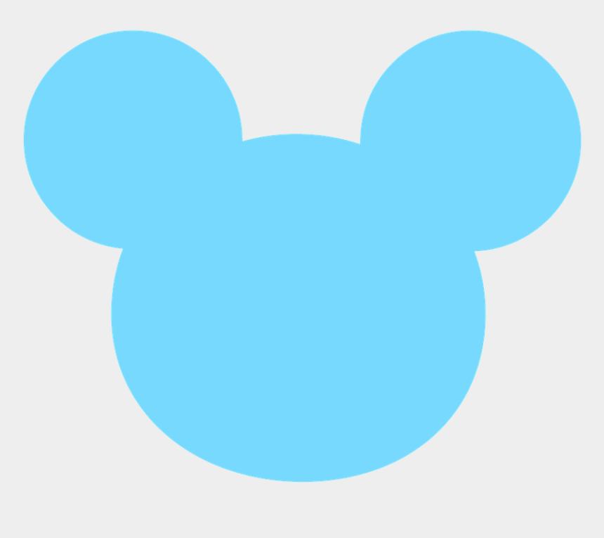 mickey head clipart, Cartoons - Mickey E Minnie - Baby Mickey Mouse Head