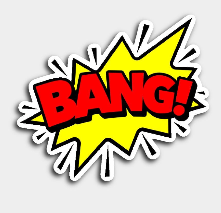comic book clipart, Cartoons - Comic Book Speech Balloon Stickers - Comic Book Bang Png