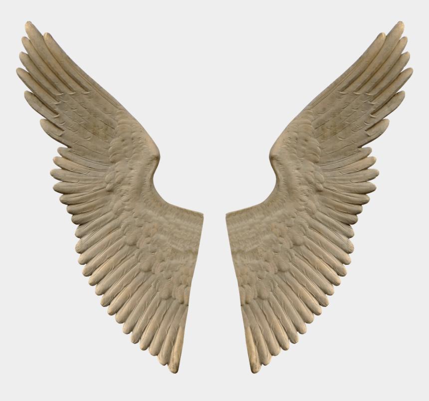 angels wings clipart, Cartoons - Stone Angel Wings - Angel Wings Sculpture Png
