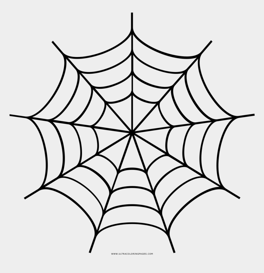 spiderweb clipart, Cartoons - Spider Web Drawing Transprent - Spider Web Clipart Black And White