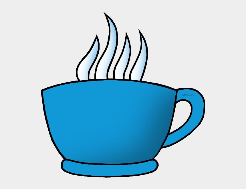 coffee cup clip art, Cartoons - Sky Blue Cup - Orange Cup Clipart Transparent