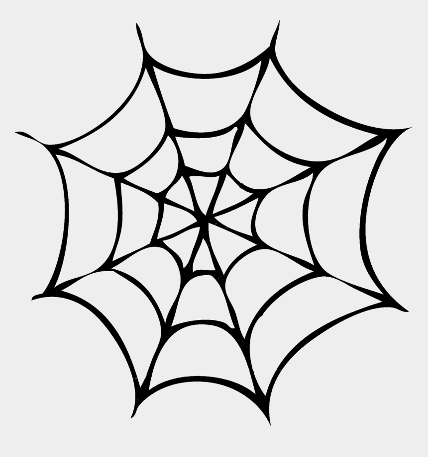 spider web clip art, Cartoons - Silhouettes Di Halloween - Spider Web Images Black And White