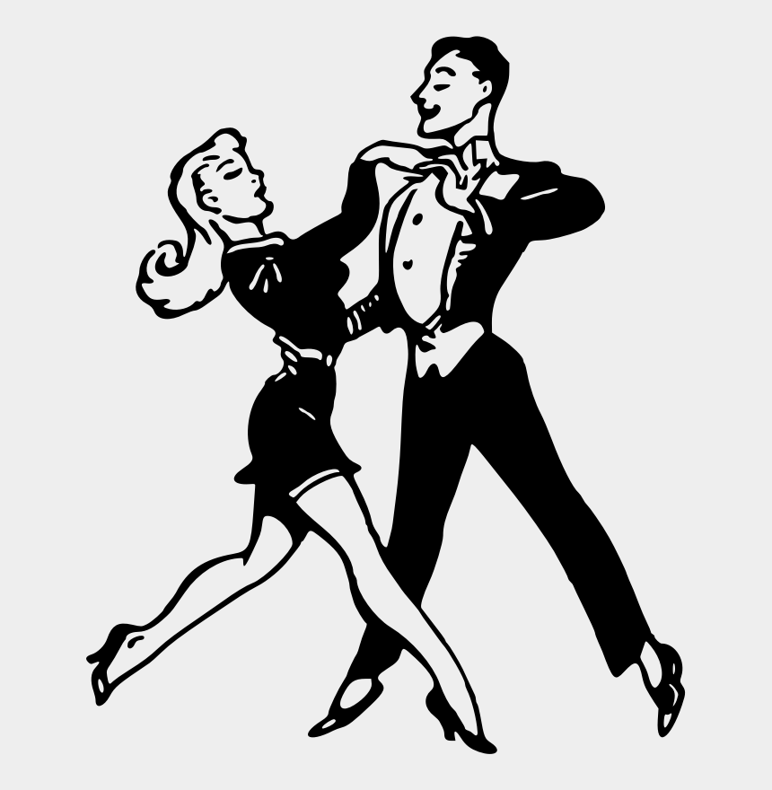 dancer clip art, Cartoons - Black And White Dance Drawing Performing Arts - Dancing Clip Art Black And White