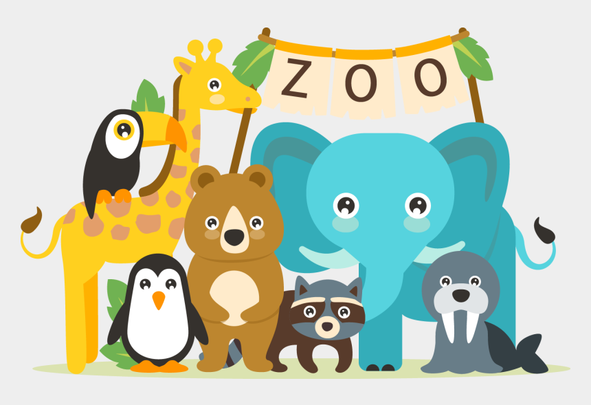 zoo clip art, Cartoons - The Best Cute Clipart Images From 50 Cliparts Of - Cute Zoo Animals Cartoon