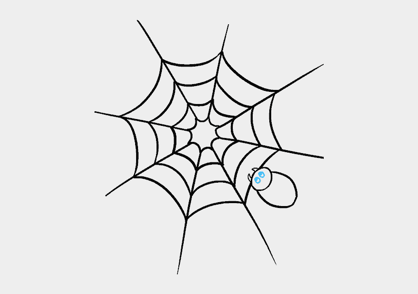 spider web clip art, Cartoons - Drawn Spider Web Trippy - Draw A Spider Web