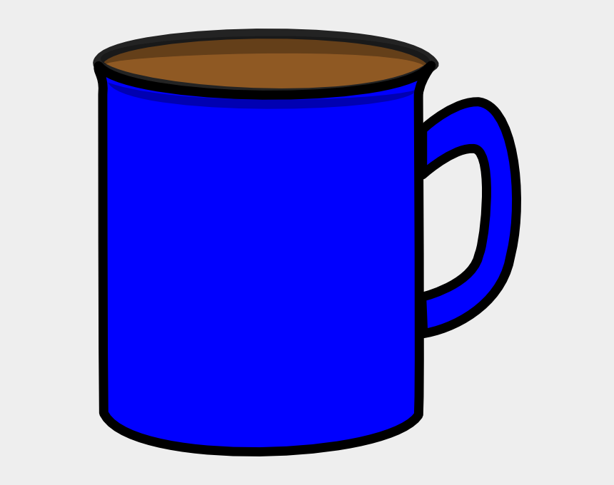coffee cup clip art, Cartoons - Cup Clipart Blue Cup - Blue Coffee Mugs Clipart