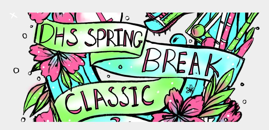 spring break clipart, Cartoons - Spring Break Classic Freshman-sophomore Invitational