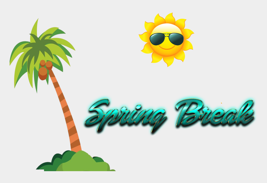 spring break clipart, Cartoons - Coconut Tree Clipart Png