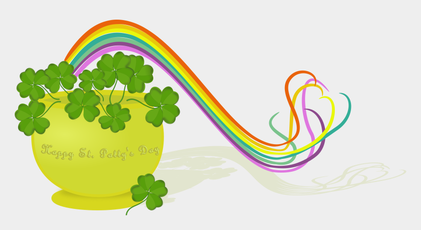 march clip art, Cartoons - March Free March Month Clip Art Songs Cards Crafts - St Patrick's Day Rainbow Pot Of Gold
