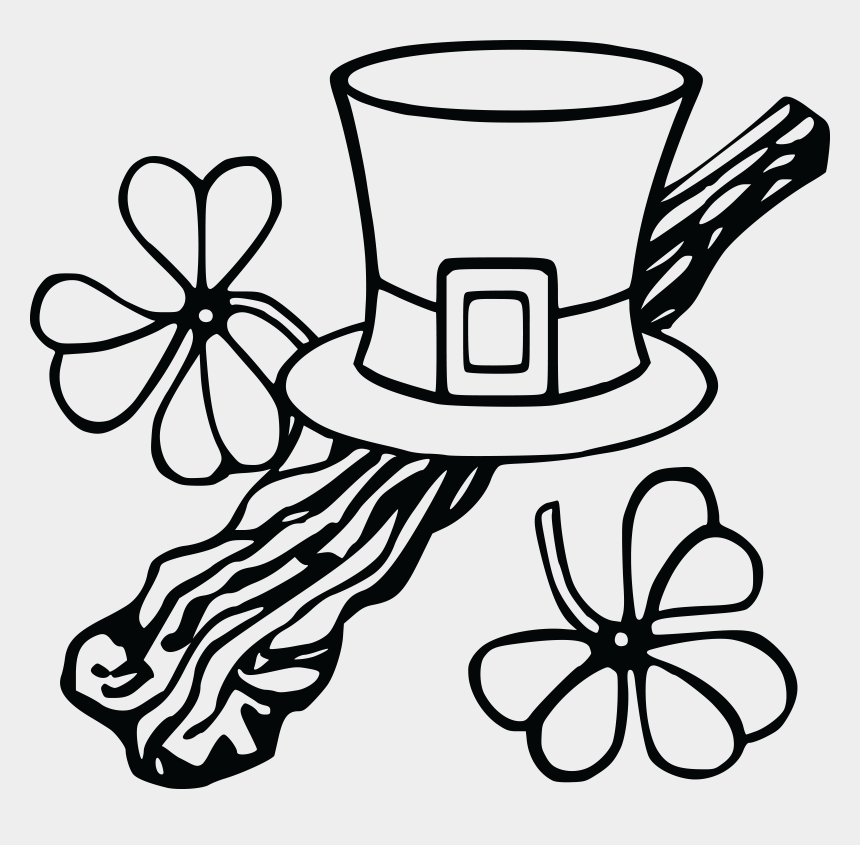 march clip art, Cartoons - March Clipart Black And White - Free Clipart St Patricks Day Black And White